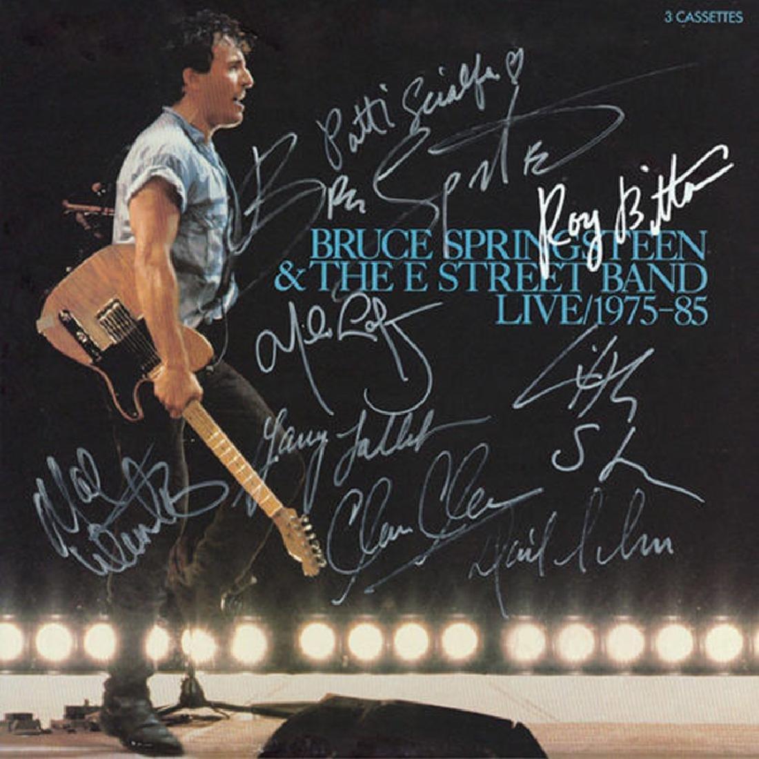 "Bruce Springsteen "" Live"" Album"