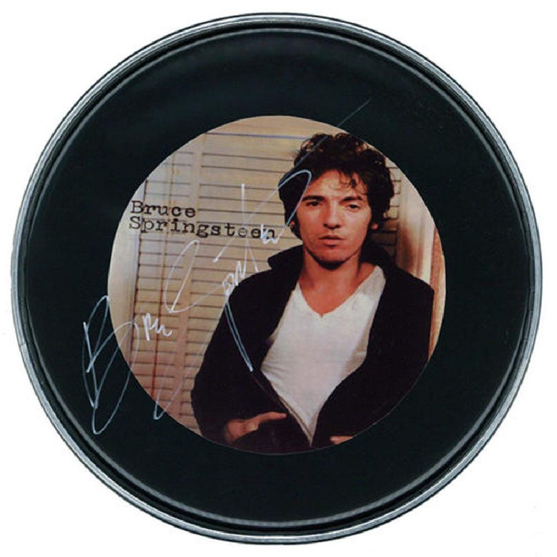 Bruce Springsteen Signed Drumhead