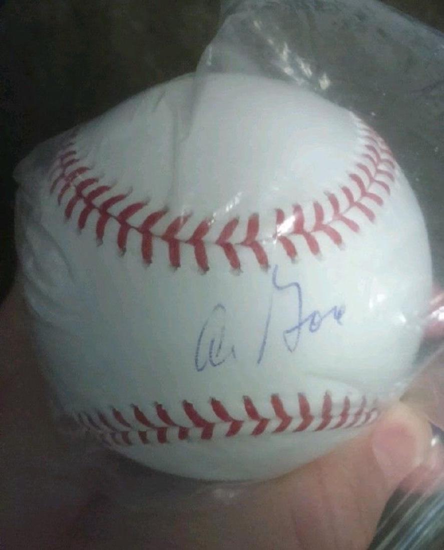 Al Gore Signed Baseball