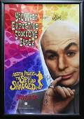 Austin Powers Signed Movie Poster