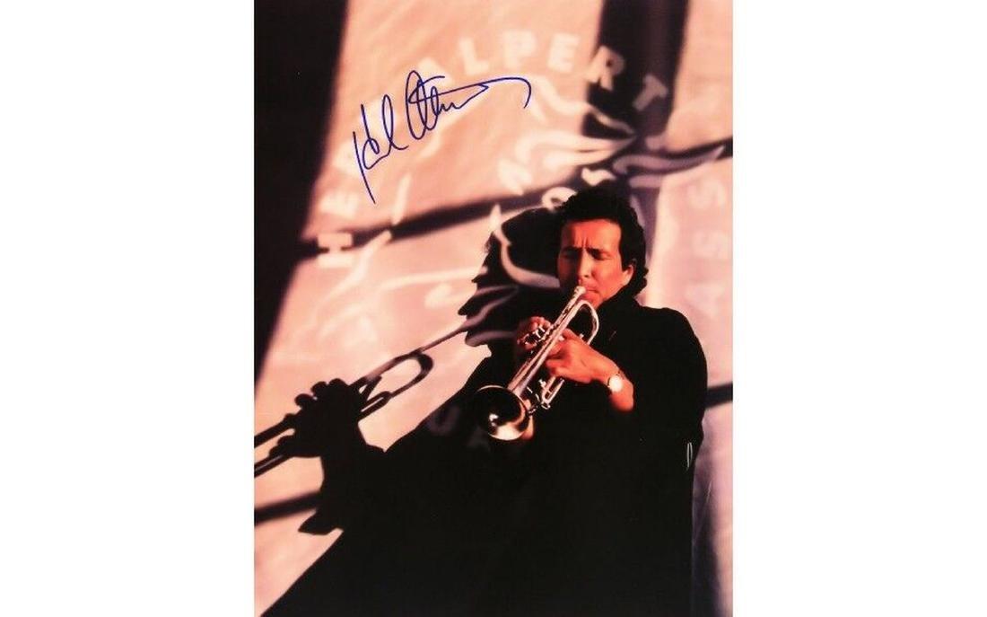 Herb Alpert Autographed Tour Book