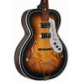 The Beatles Signed Kay Double Cut Hollow Bodied Guitar