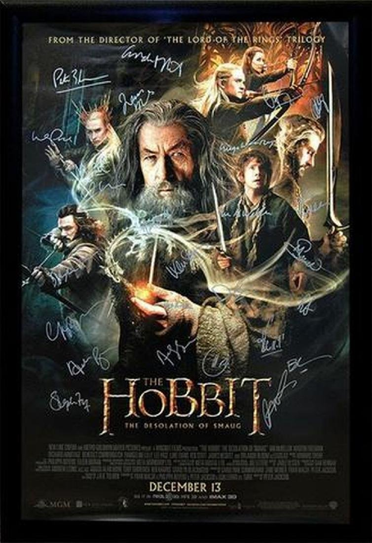 The Hobbit - The Desolation of Smaug - Signed Movie