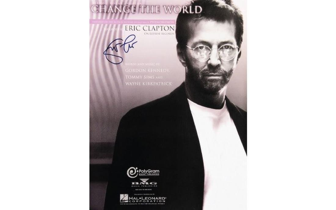 Eric Clapton Change The Word Sheet Music