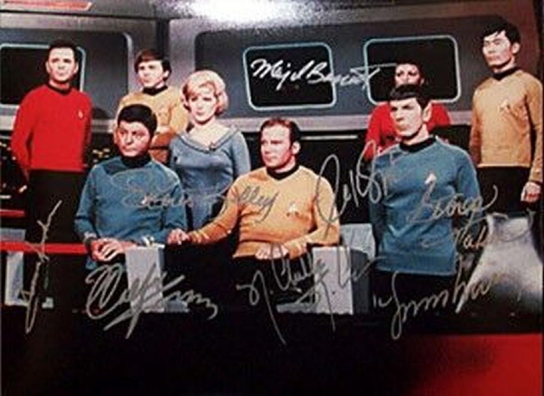 Star Trek Signed Photo