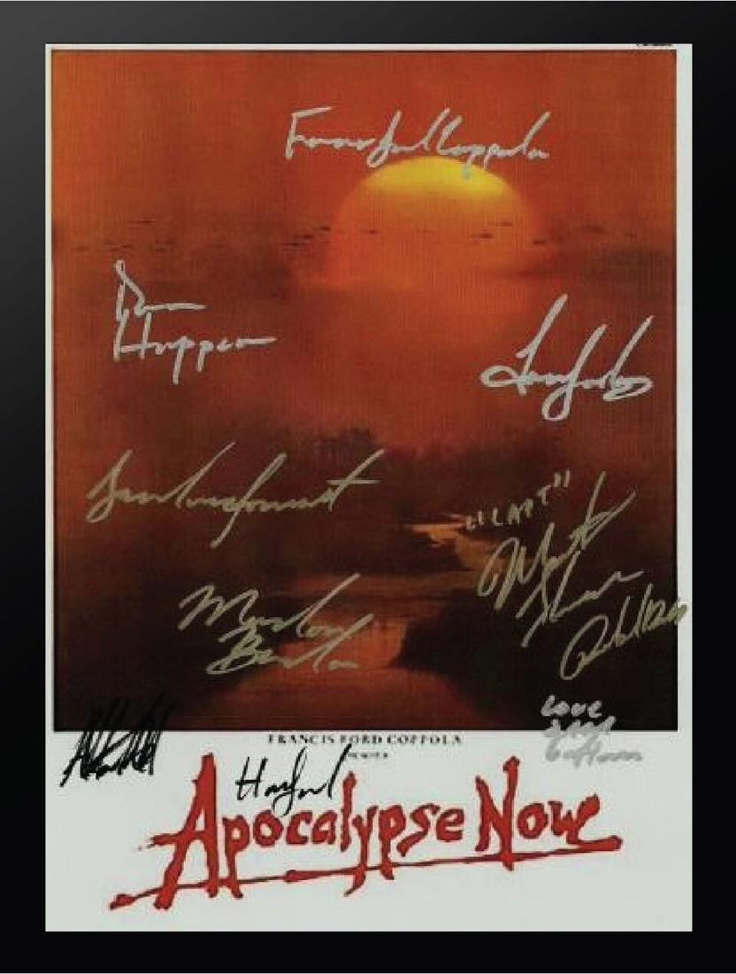 Apocalypse Now Signed Movie Poster