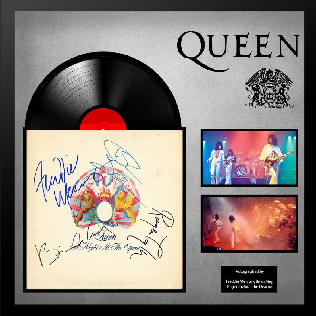 Queen A Night At The Opera Framed Album
