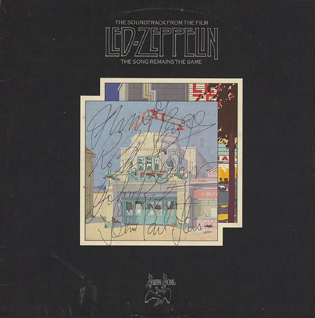 Led Zeppelin The Song Remians The Same Album