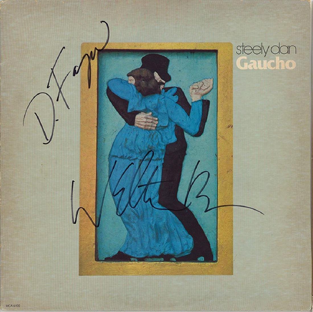 Steely Dan Signed Gaucho Album