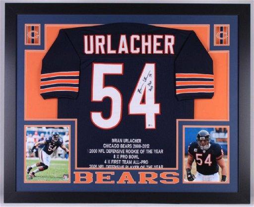 new arrivals 4265a 5e71d Brian Urlacher Signed Chicago Bears Jersey - Oct 13, 2018 ...