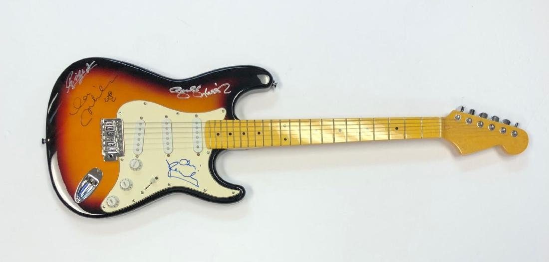 The Beatles Signed Sunburst Guitar
