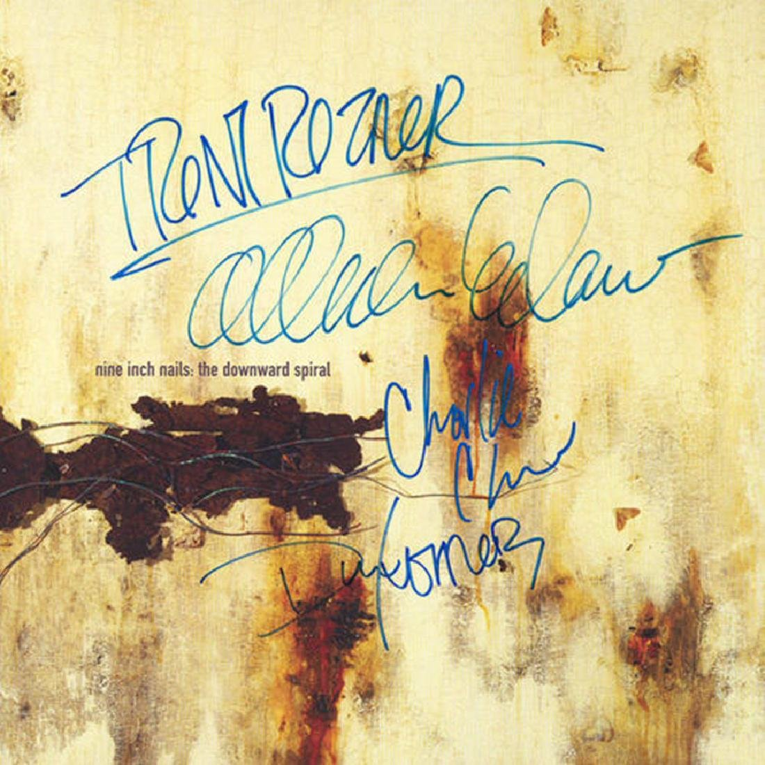 Nine Inch Nails Signed The Downward Spiral Album