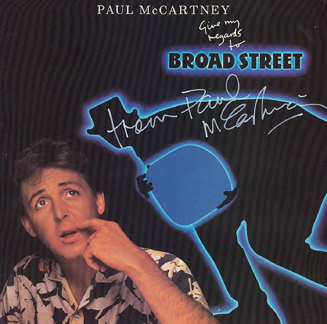 Paul McCartney Signed Give My Regards to Broad Street