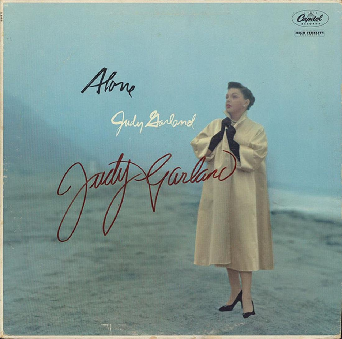 Judy Garland Signed Alone Album