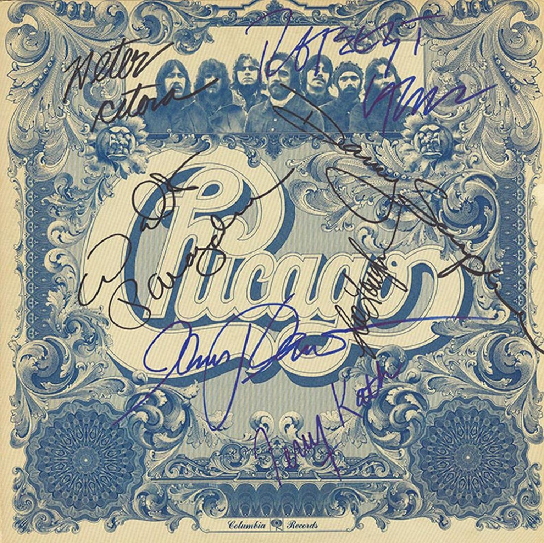 Chicago Signed Chicago VI Album