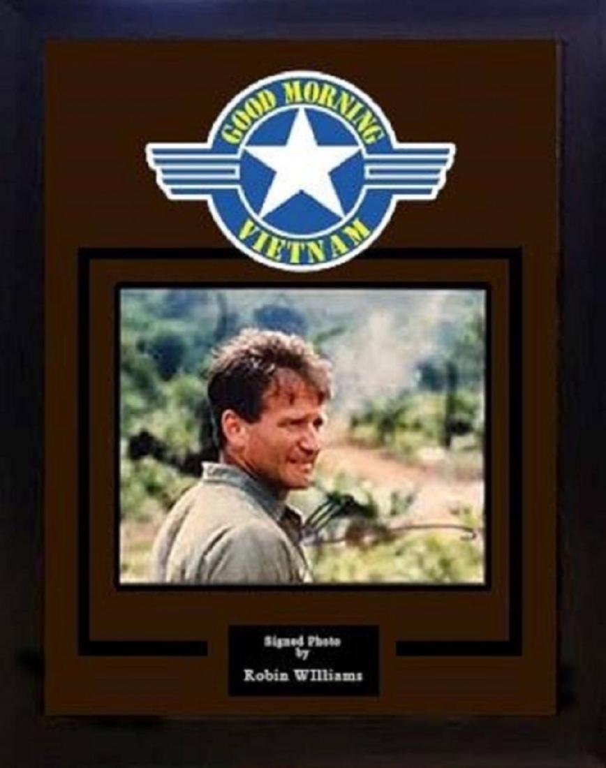 Good Morning Vietnam - Signed by Robin Williams -