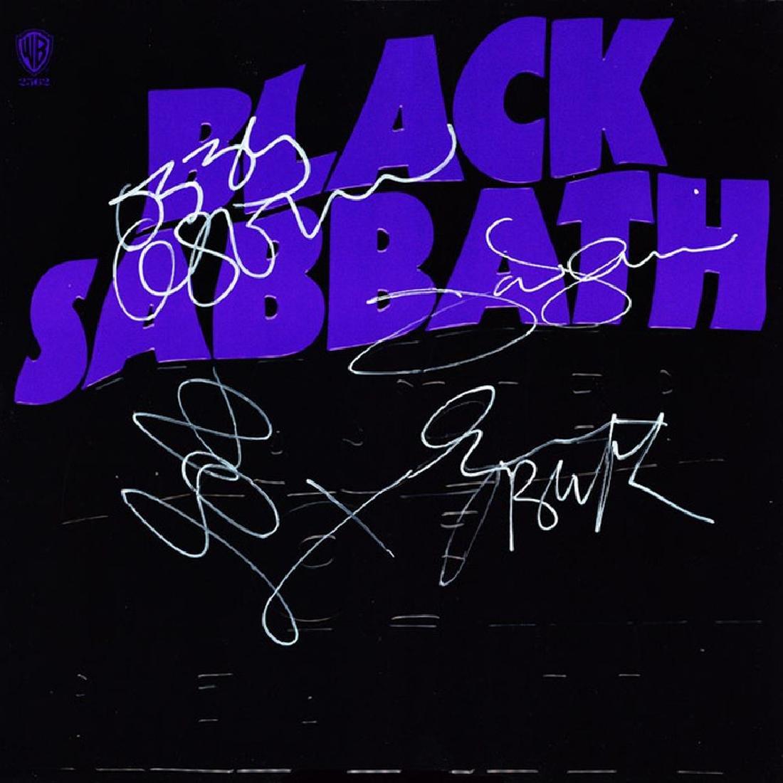"Black Sabbath ""Master Of Reality"" Signed Album"