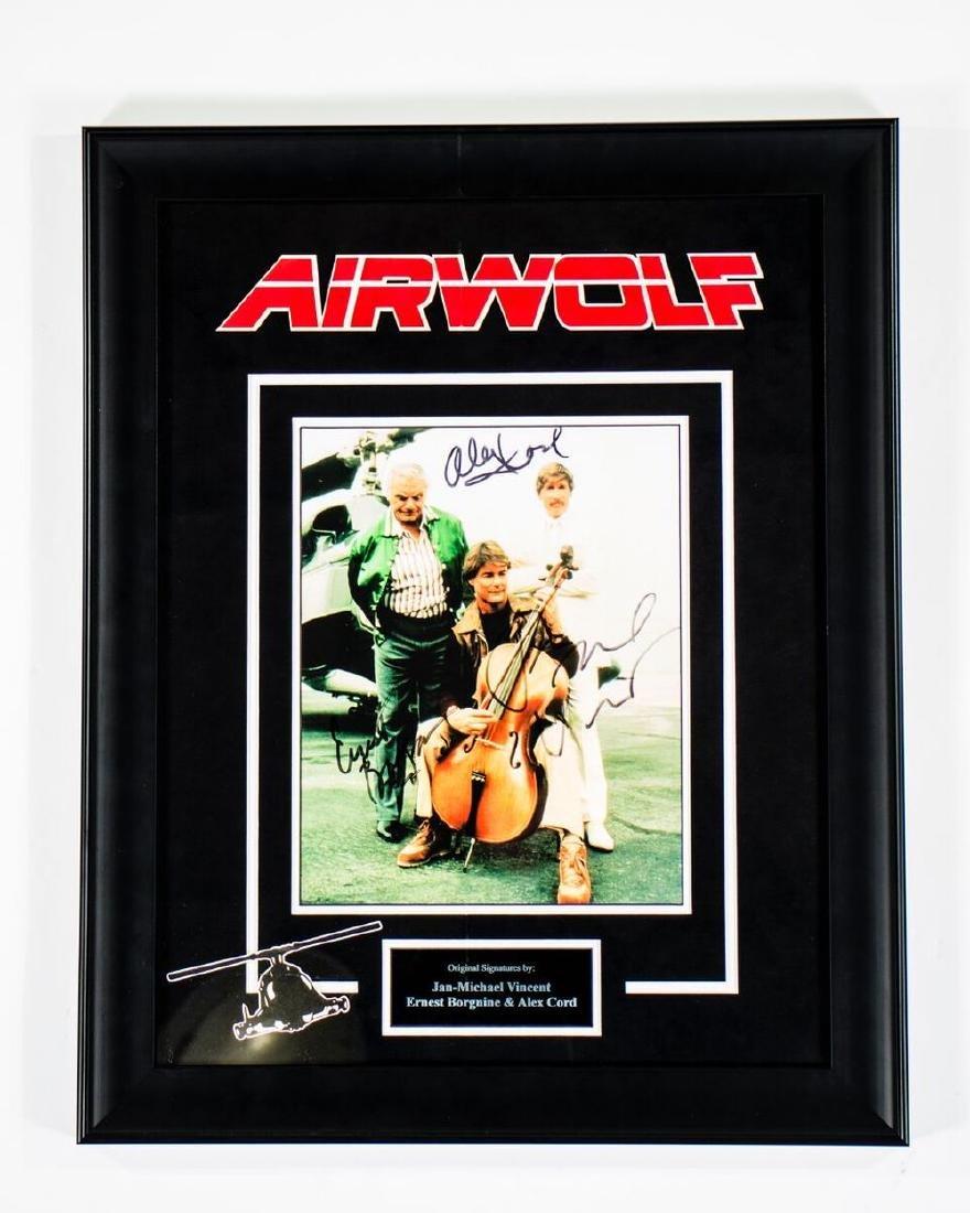 Airwolf Signed Photo