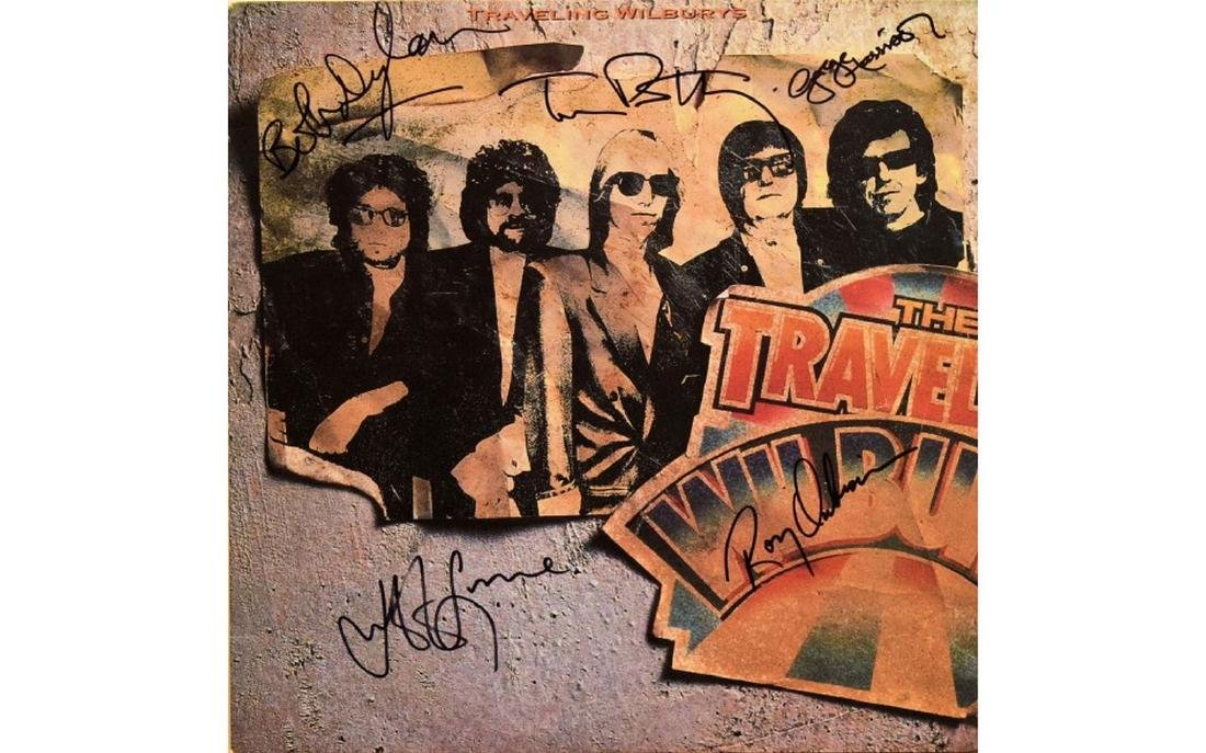 The Traveling Wilburys Signed Volume One Album