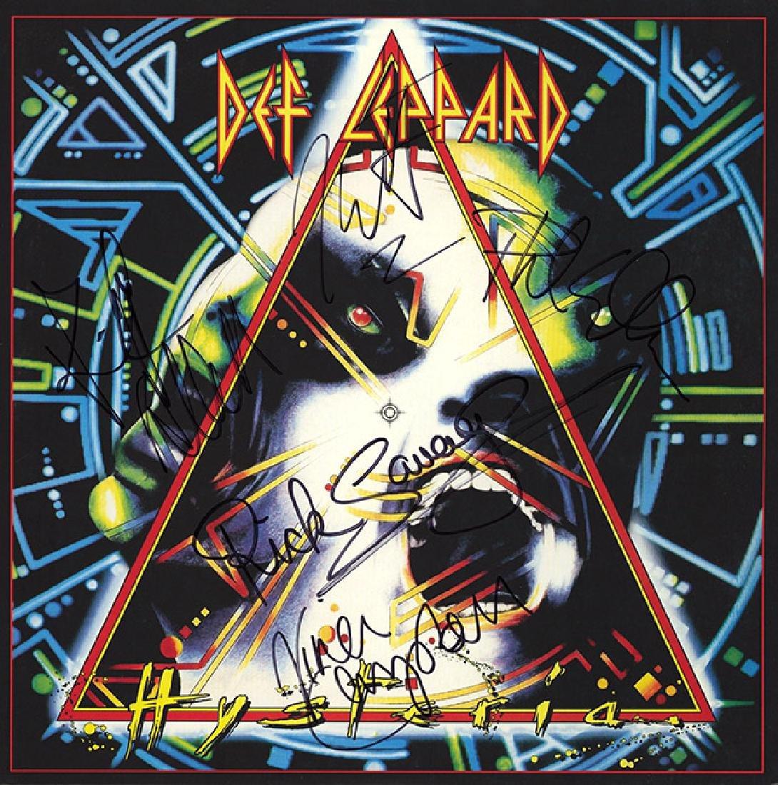 Def Leppard Signed Hysteria Album