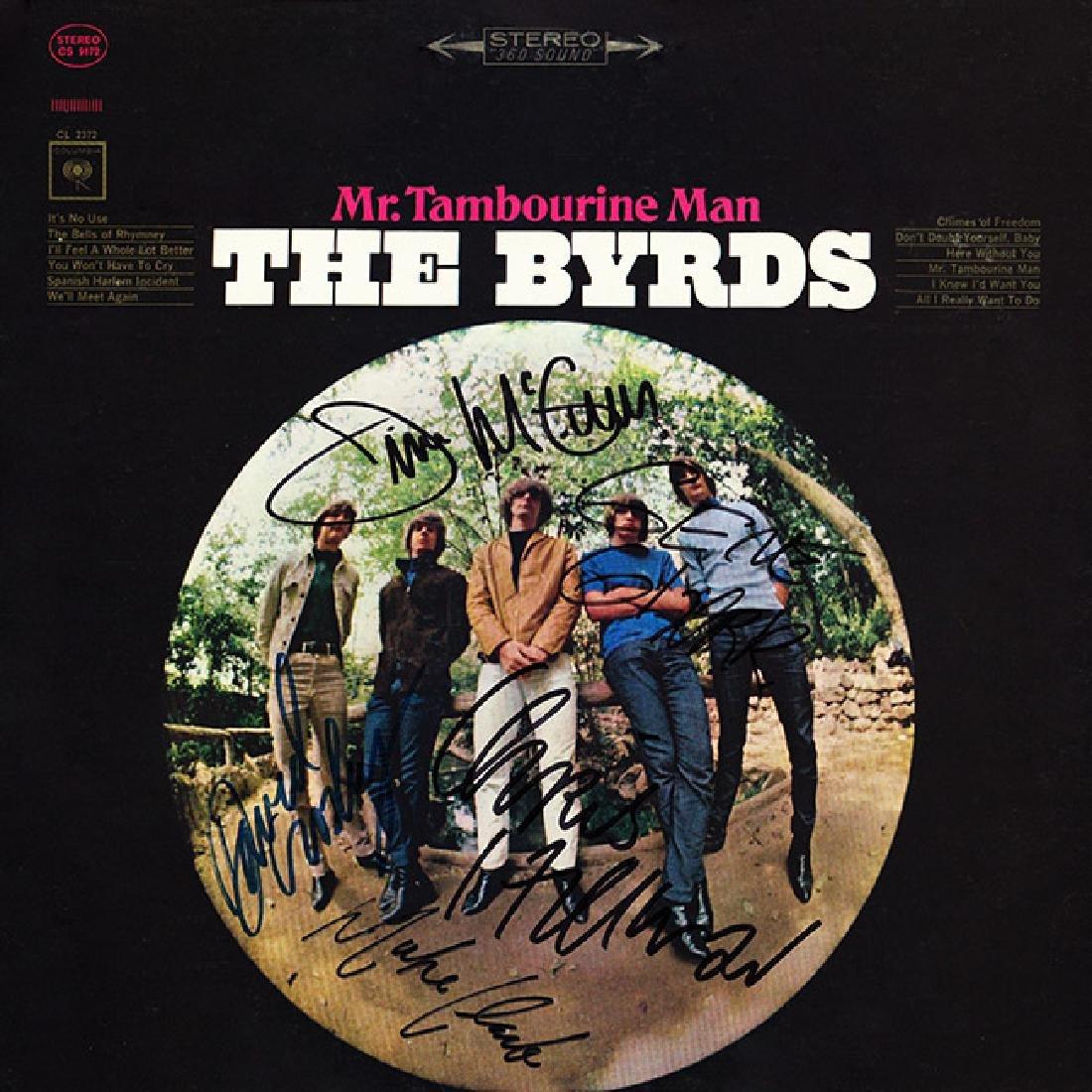 The Byrds Signed Tamborine Man Album