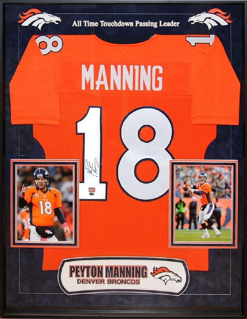 Peyton Manning Autographed Broncos Jersey