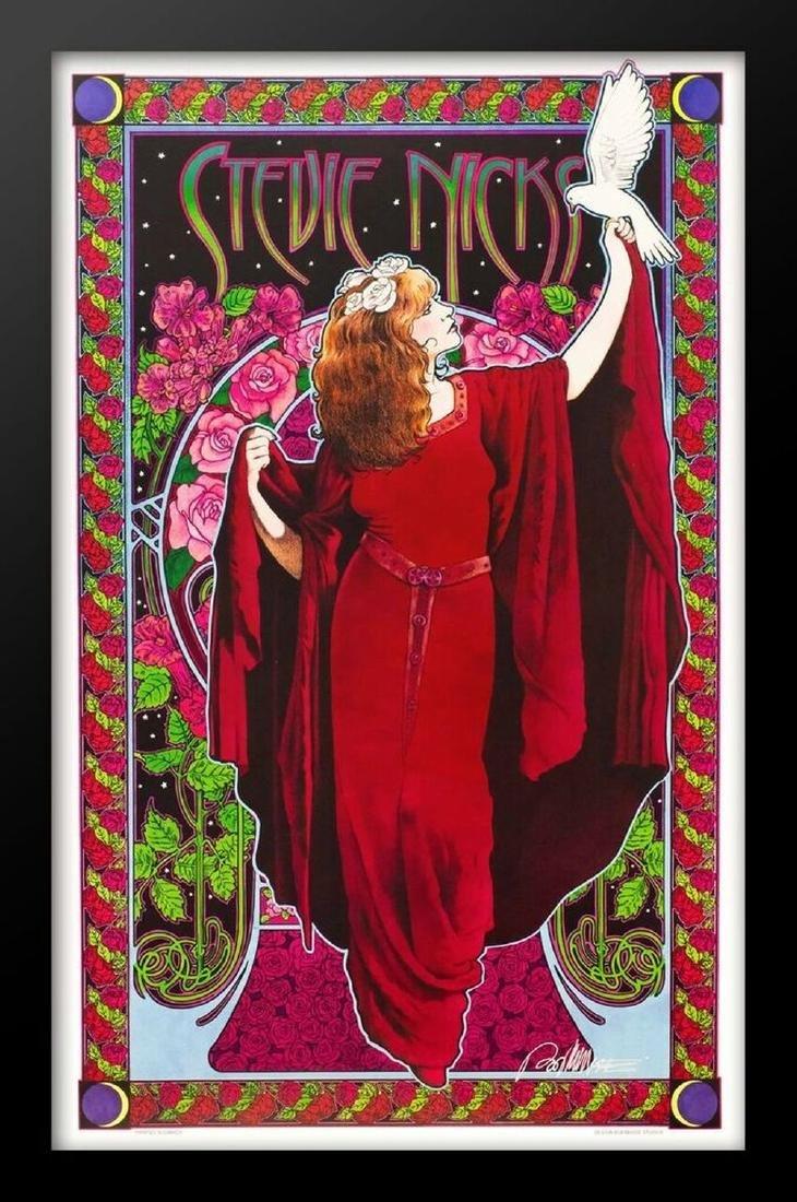 Concert poster designed for Stevie Nicks.