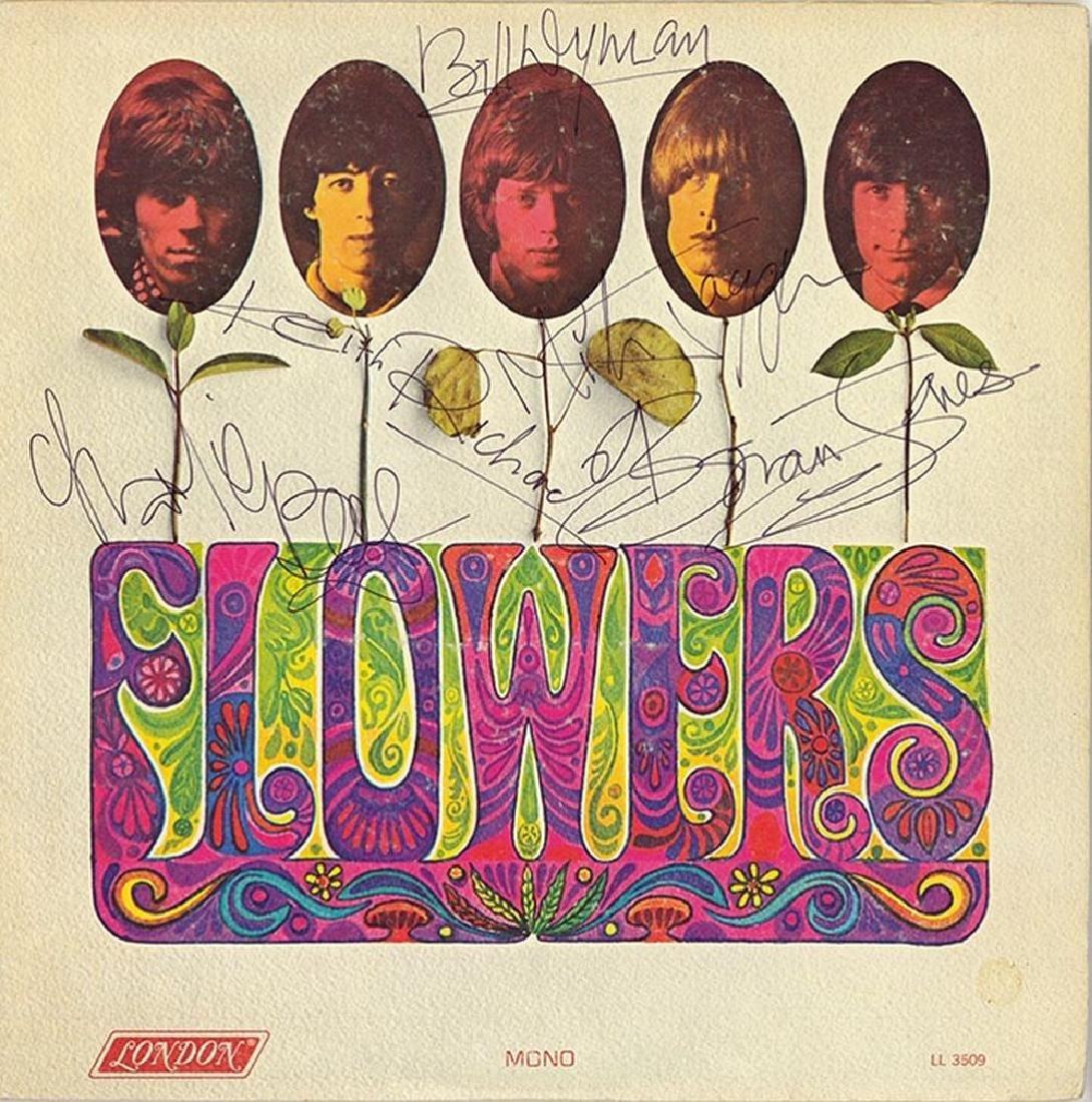 "The Rolling Stones Signed ""Flowers"" Album"