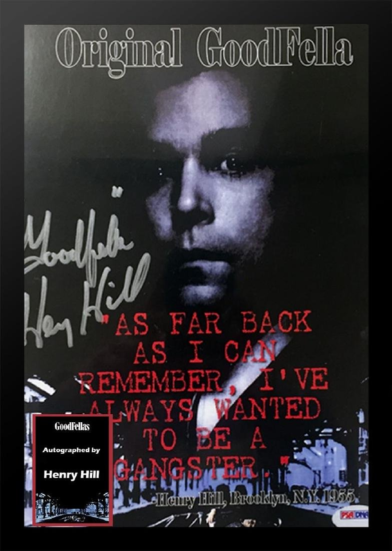 Goodfellas Signed Movie Poster