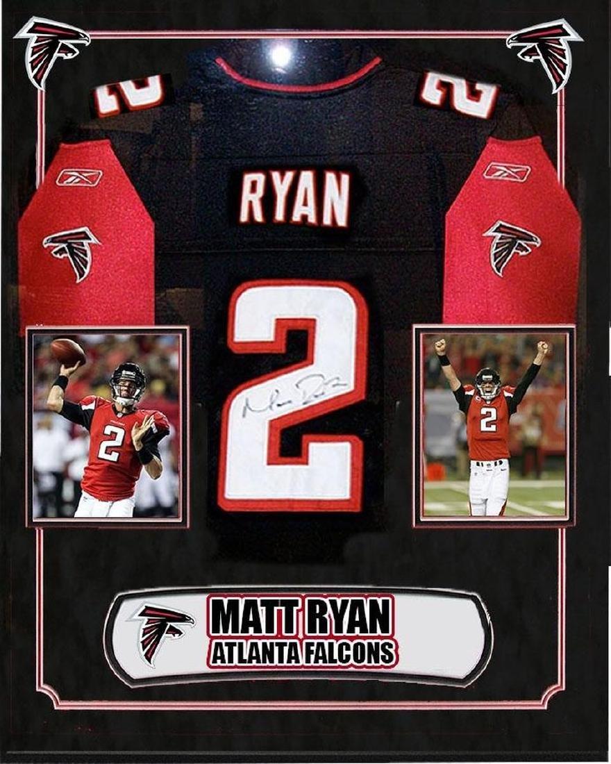 Matt Ryan Signed Falcons Jersey