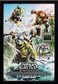 Teenage Mutant Ninja Turtles Signed Movie Poster