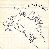 Pink Floyd The Wall Signed Album
