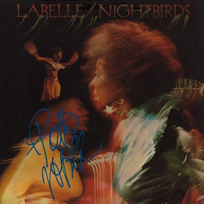 Patti LaBelle Signed Nightbirds Album
