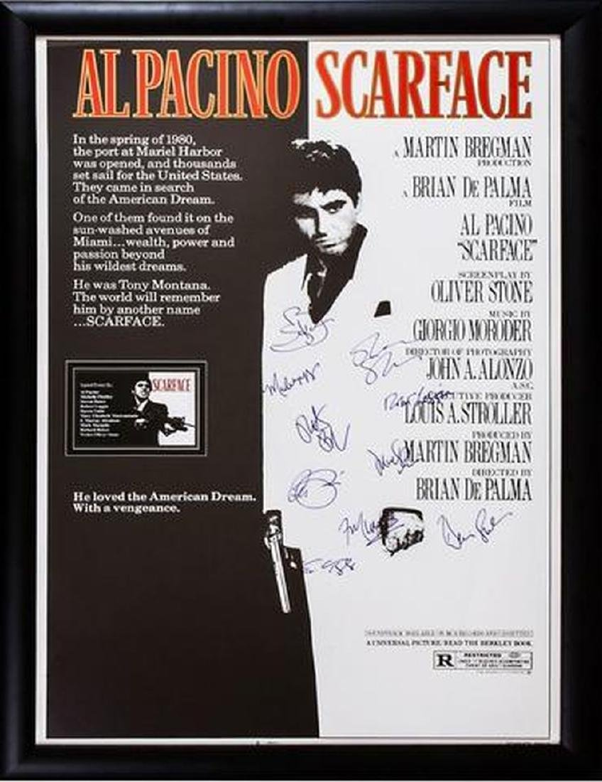 Scarface - Signed Movie Poster