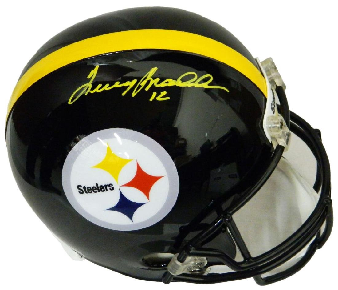 Terry Bradshaw Signed Steelers Riddell Full Size