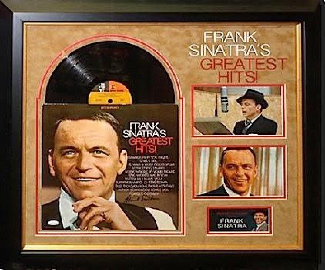Frank Sinatra Framed & Signed Greatest Hits Album