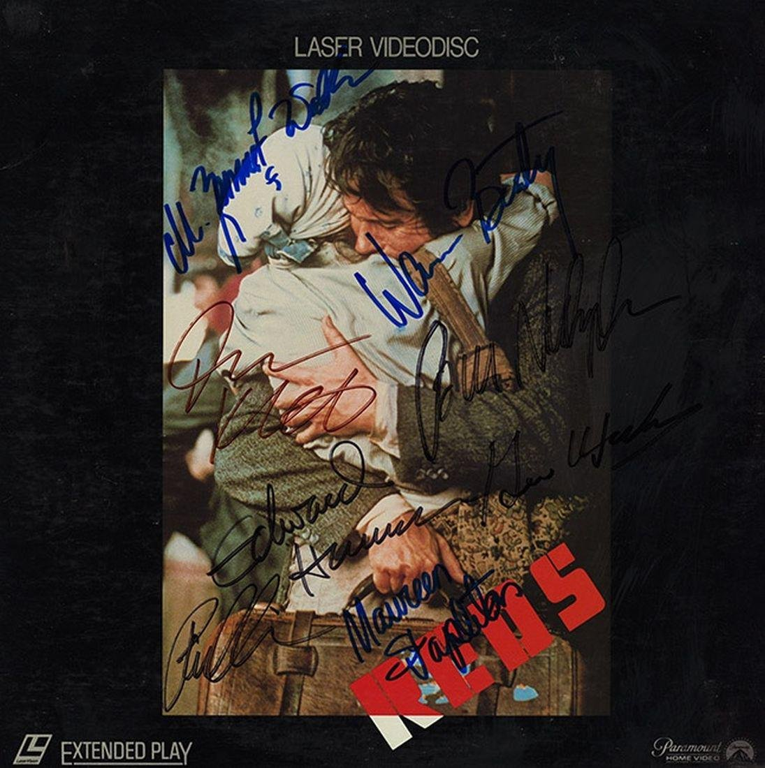 "Warren Beatty & Jack Nicholson ""Reds"" Signed Laserdisc"