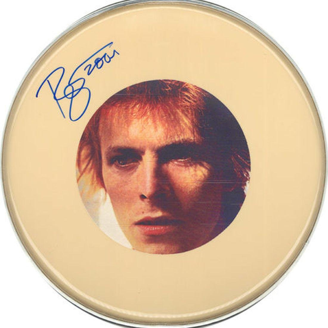"David Bowie ""David Bowie"" Drum Head"