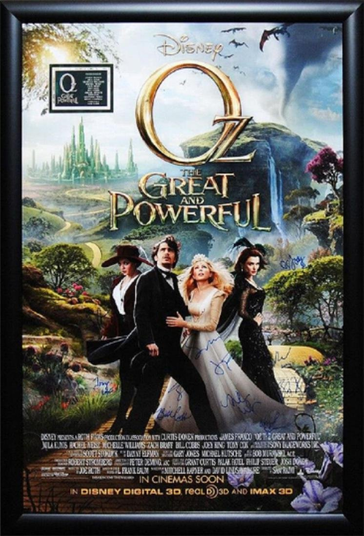 Oz - Signed Movie Poster