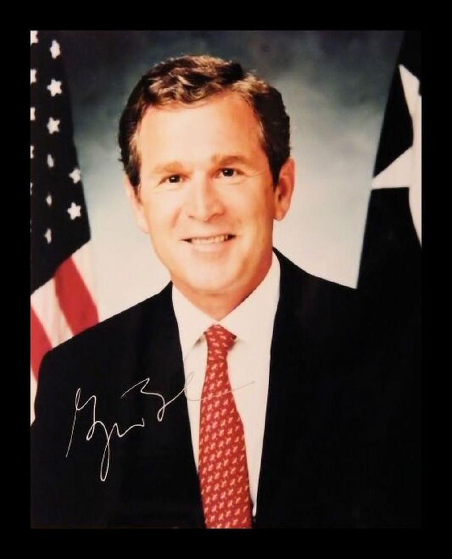George W. Bush Autographed Photo