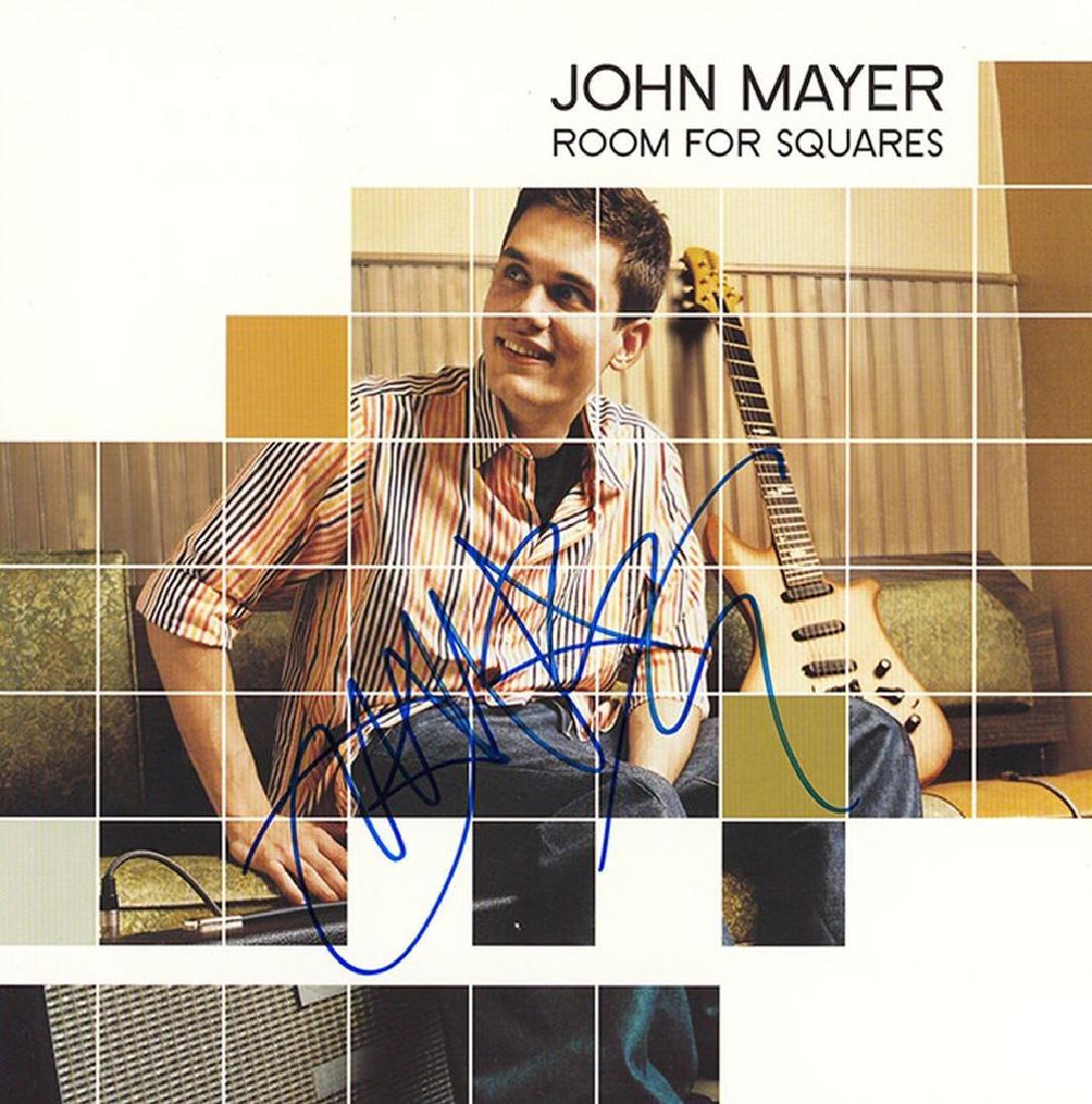 "John Mayer Signed ""Room For Squares"" Album"