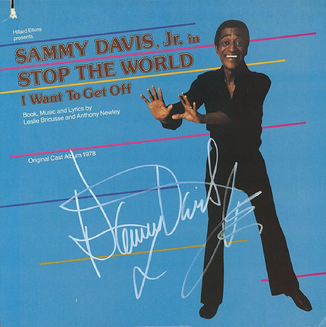 Sammy Davis Jr. Signed Stop The World I Want To Get Off