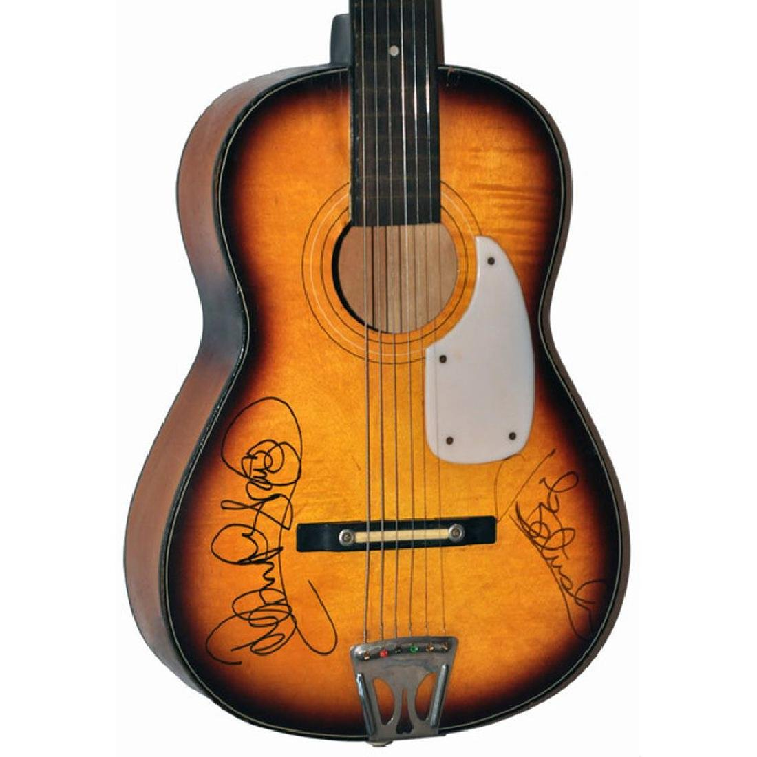 Blues Brothers Signed Acoustic Guitar