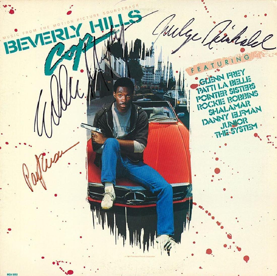 "Eddie Murphy ""Beverly Hills Cop"" Signed Soundtrack"