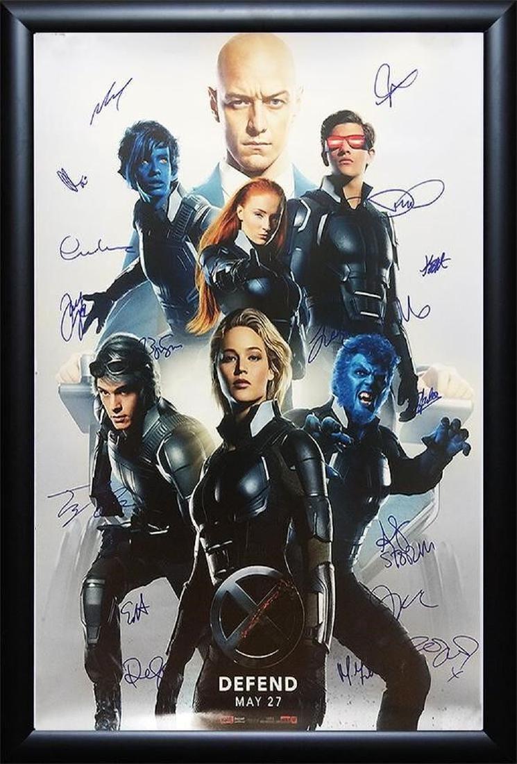 X-Men Apocalypse - Signed Movie Poster