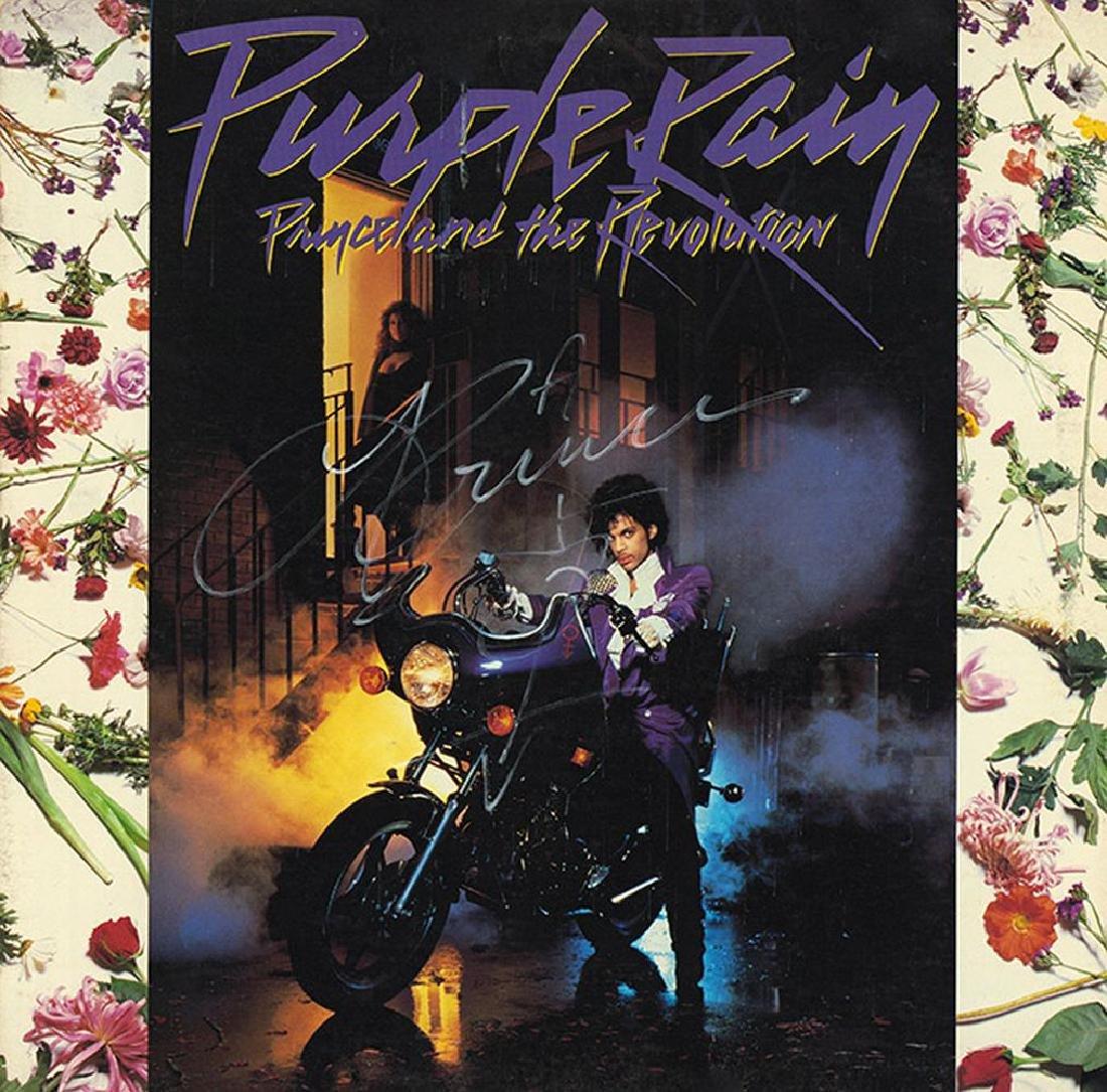 "Prince ""Purple Rain"" Signed Album"