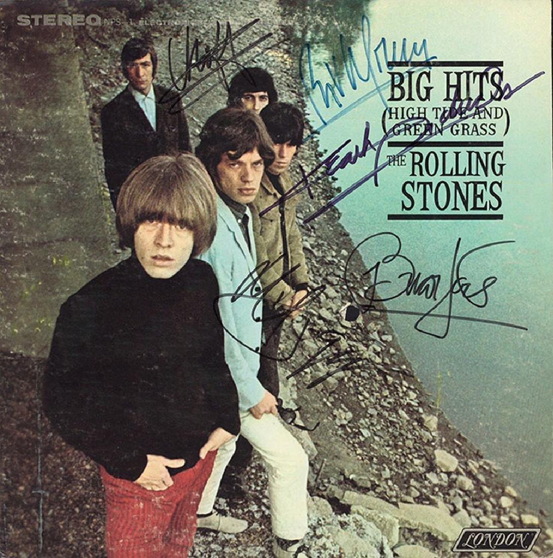 Rolling Stones Big Hits Album