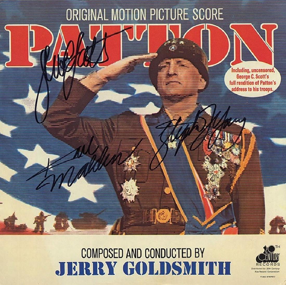 "George C. Scott ""Patton"" Signed Soundtrack Album"