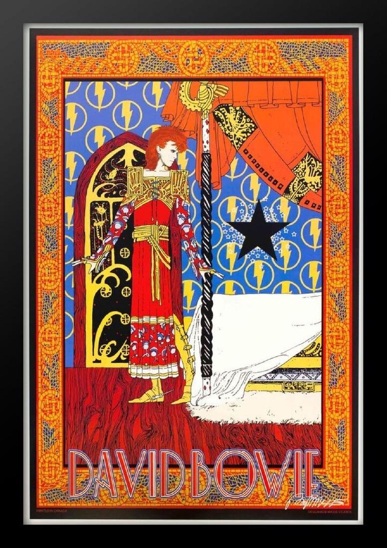 Bob Masse David Bowie Framed Poster