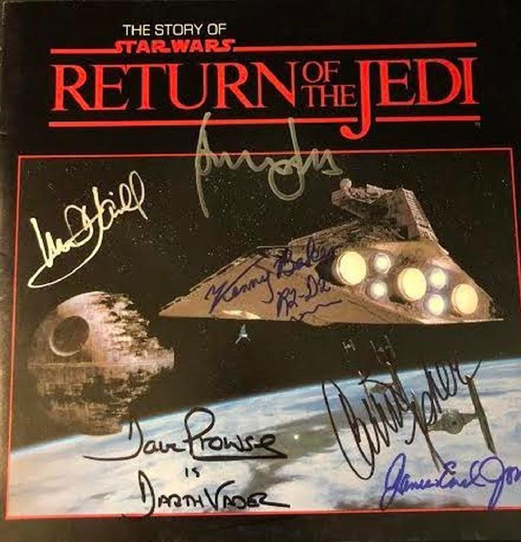 The Story of Return of the Jedi Cast Signed Album